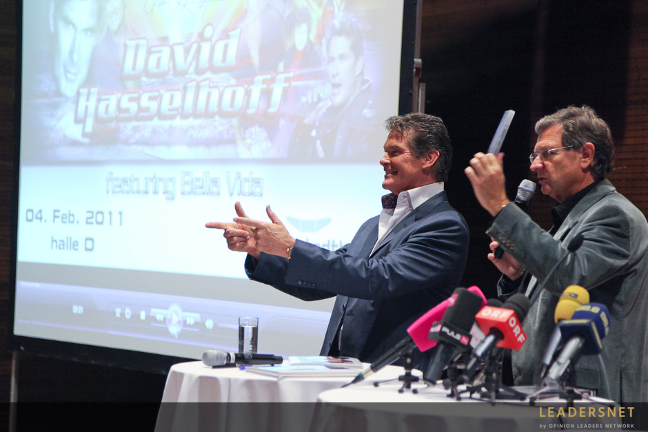 Wiener Stadthalle: Pressegespräch