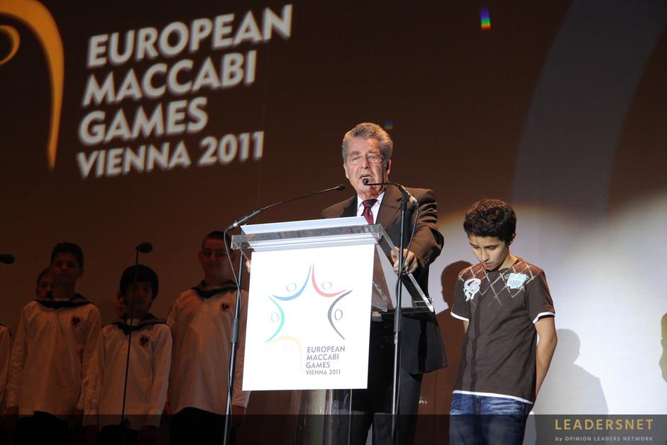 Maccabi-Spiele-Eröffnung