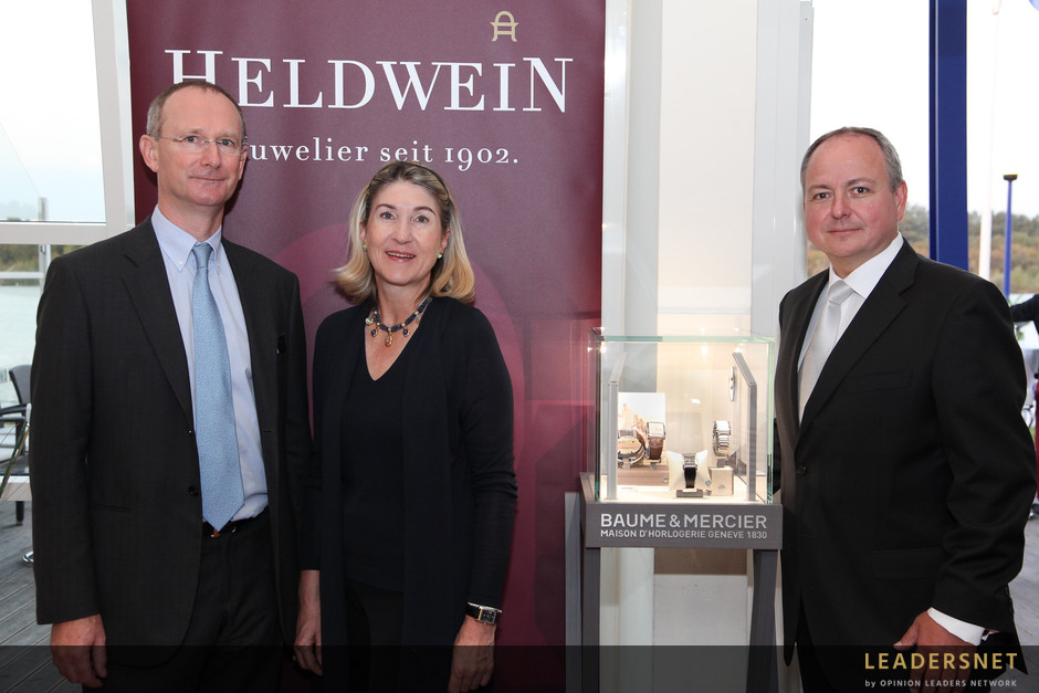 Heldwein und Baume & Mercier Hampton Kollektion - Fotos K.Schiffl