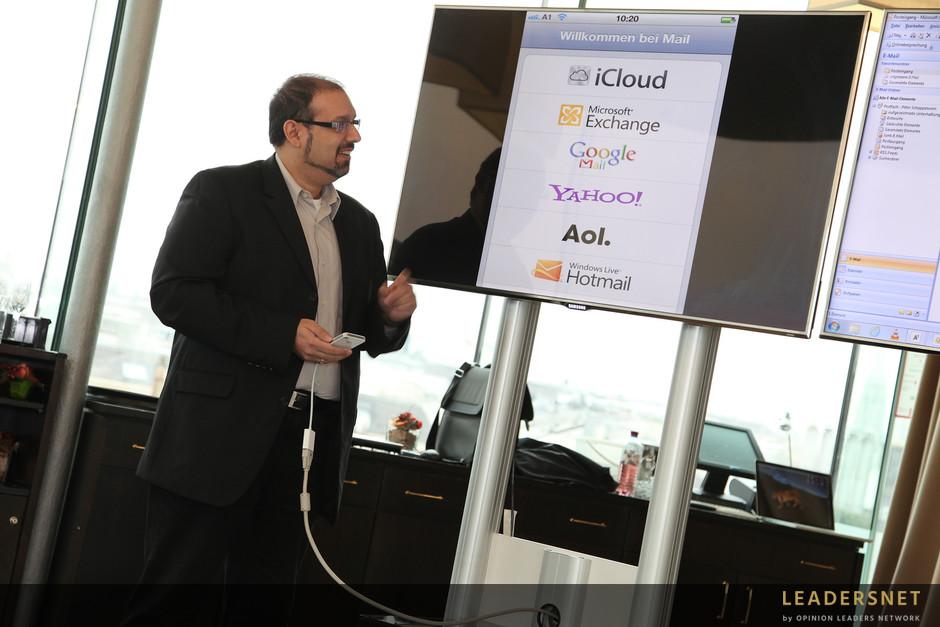 A1 präsentiert die Austria Cloud - Fotos K.Schiffl