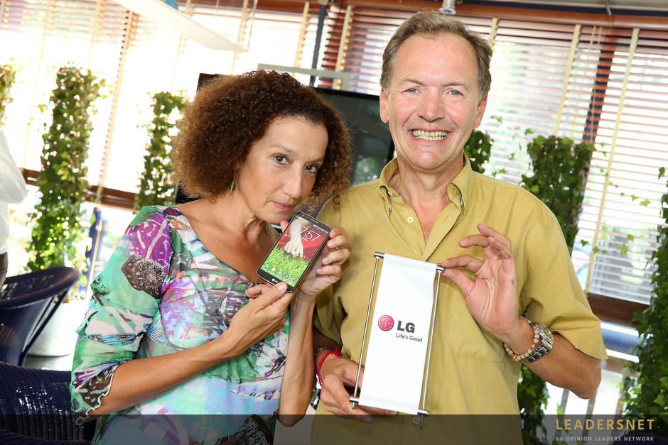 LG Smartphone Präsentation - Fotos K.Schiffl