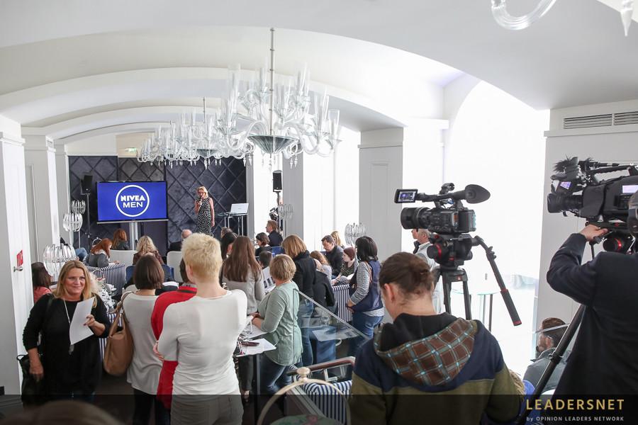 NIVEA MEN Pressekonferenz