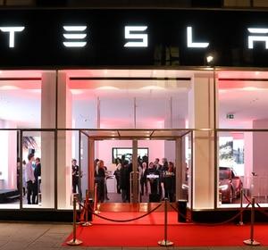 Tesla Flagship-Store Eröffnung (10. Jänner 2017)