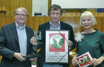 8. Preisverleihung der Medienpreise SENIOREN-ROSE & SENIOREN-NESSEL