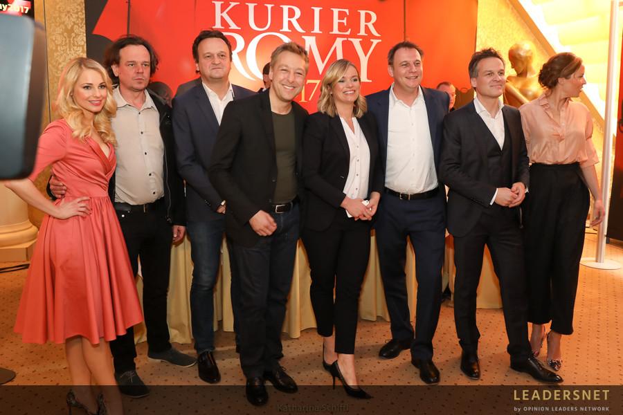 Kick-Off der KURIER ROMY 2017