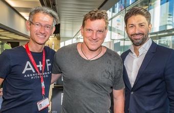 Austrian VIP / Sponsorenflug Sektempfang