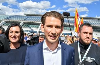 Sebastian Kurz Sommerfest