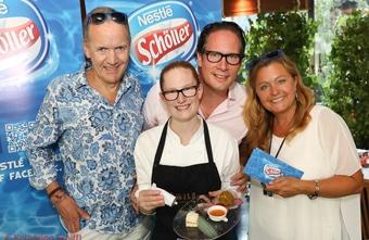 Schöller Eisdessert Verkostung @Summerstage