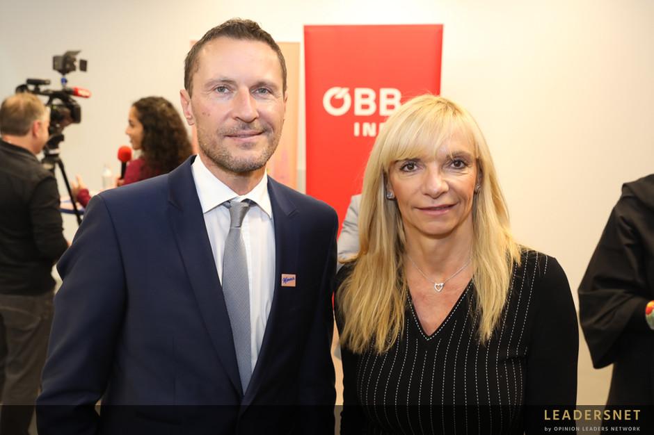 """Präsentation der """"Manner-Linie"""" - ÖBB"""