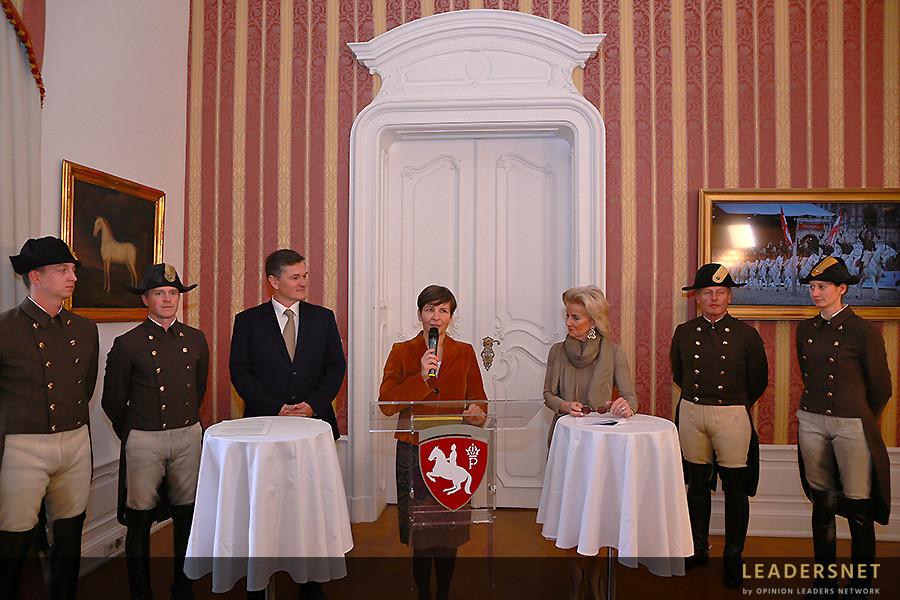 PK Spanische Hofreitschule - Elisabeth Gürtler & Erwin Klissenbauer