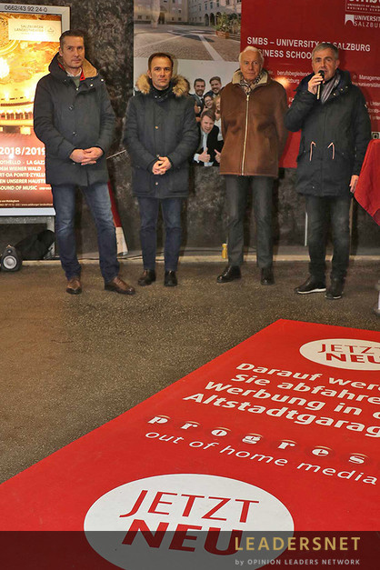 Präsentation der Werbeflächen in den Altstadtgaragen & Ausstellung Oskar Kokoschka im Museum der Moderne