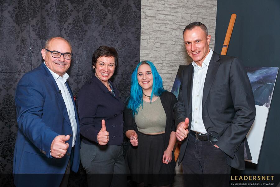 WKNÖ FG Werbung zu Gast bei LAYOUTRIOT