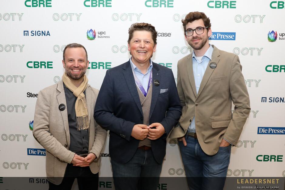 CBRE Office of the Year Award Verleihung