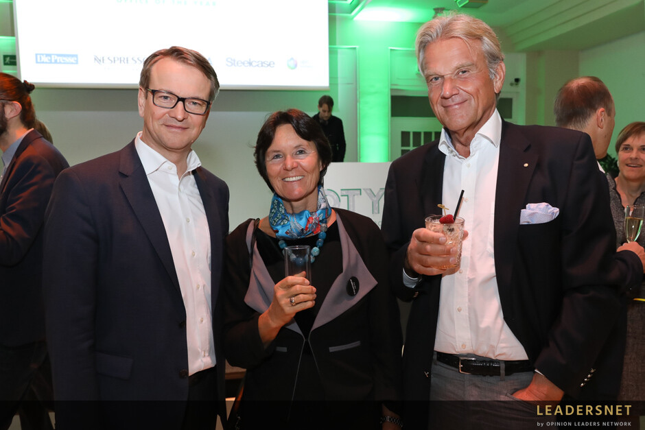 CBRE Office of the Year Award Verleihung