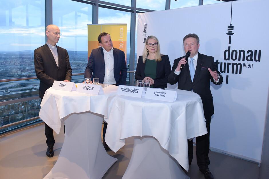 Eröffnungsfeier Donauturm Wien