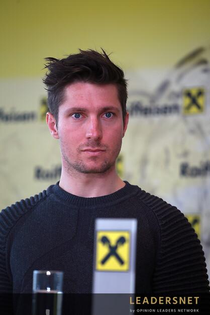 Pressekonferenz - Marcel Hirscher