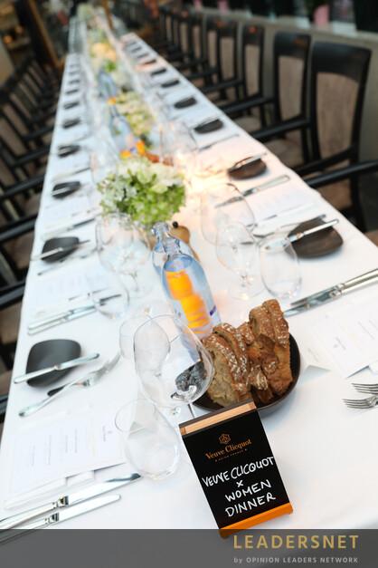 Veuve Clicquot Business Woman Dinner
