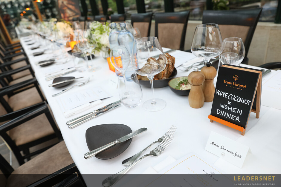 Veuve Clicquot Business Woman Dinner
