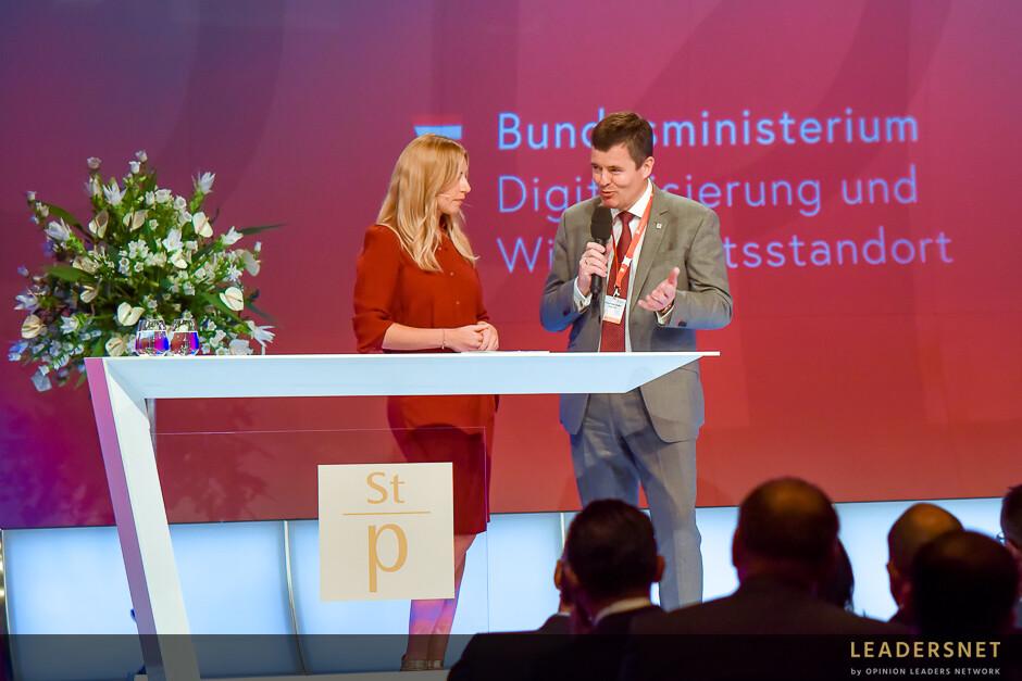 Verleihung des Staatspreis Unternehmensqualität 2019