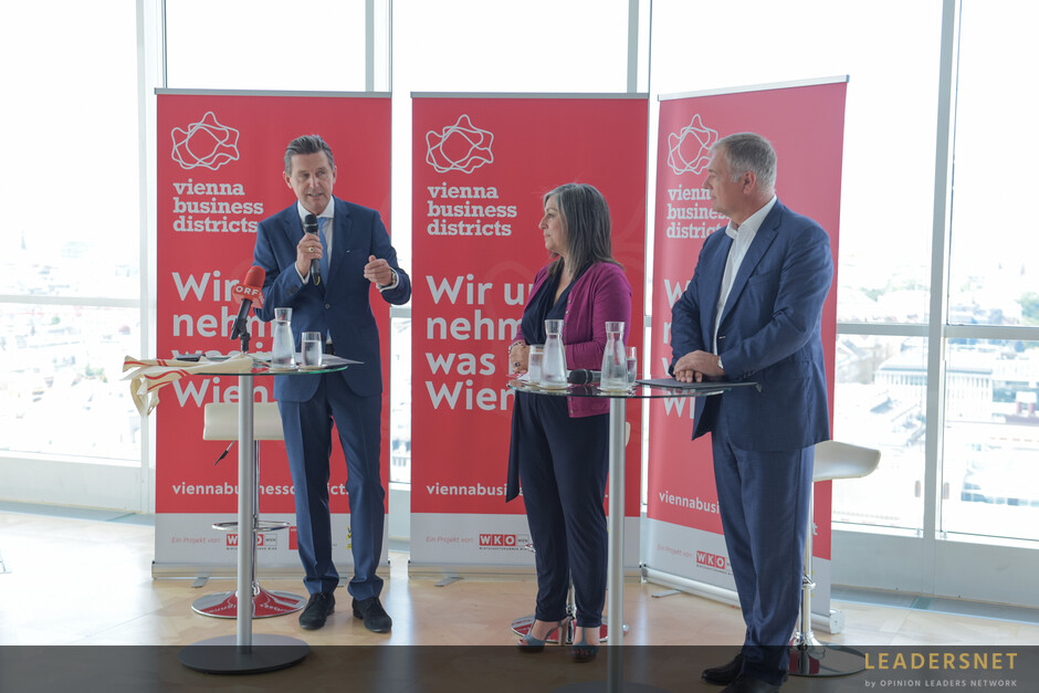 Pressekonferenz - Stadt Wien und WK Wien: Wiens größte Betriebsflächen unter neuem Dach