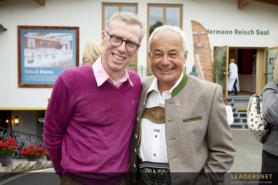 10 Jahre Café+Co Wirtschaftswanderung - Eröffnungsabend Rasmushof in Kitzbühel