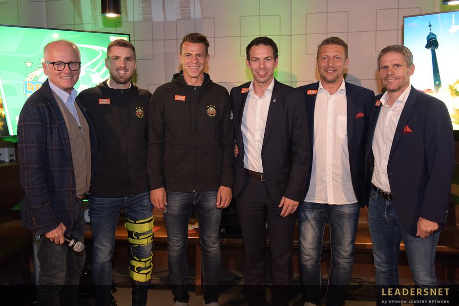 SK Rapid Spielverlagerung powered by Blaguss