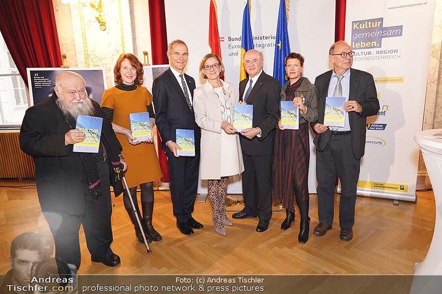 Buchpräsentation - Kultur Region Europa