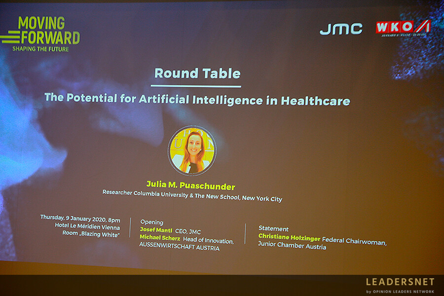 Moving Forward Round Table 2020: The Potential for Artificial Intelligence in Healthcare