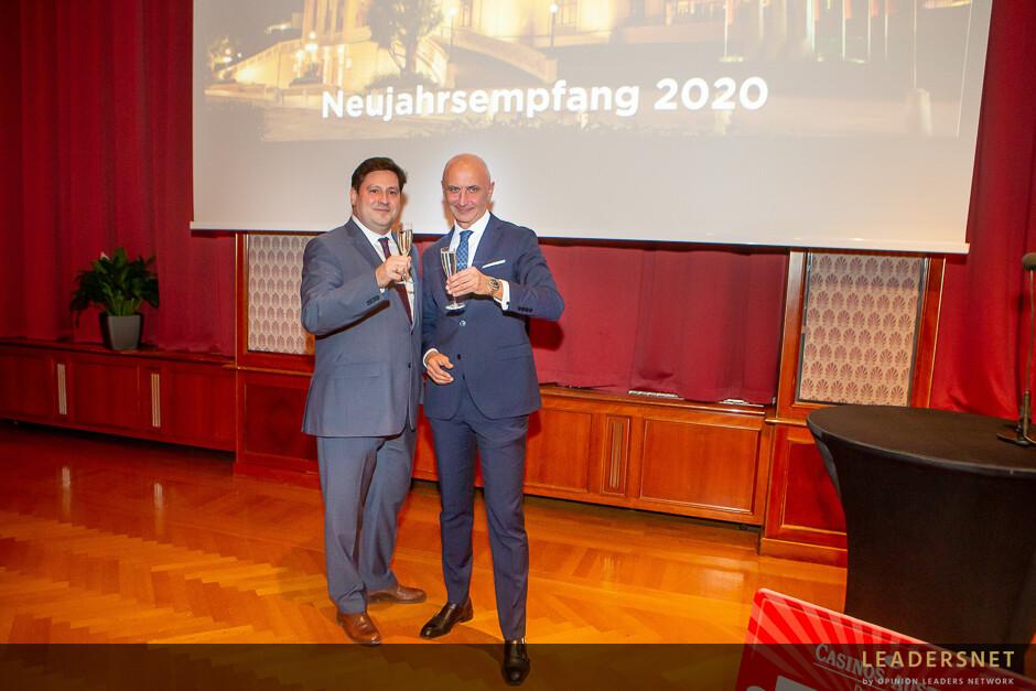Neujahrsempfang Casino Baden 2020