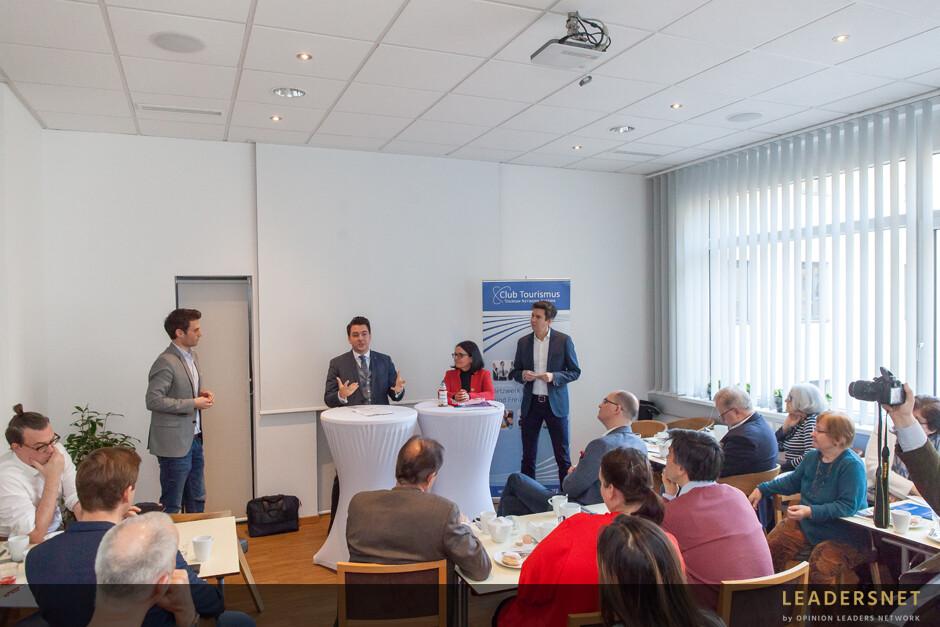 Pressekonferenz Club Tourismus - Netzwerk für Tourismus und Freizeitwirtschaft