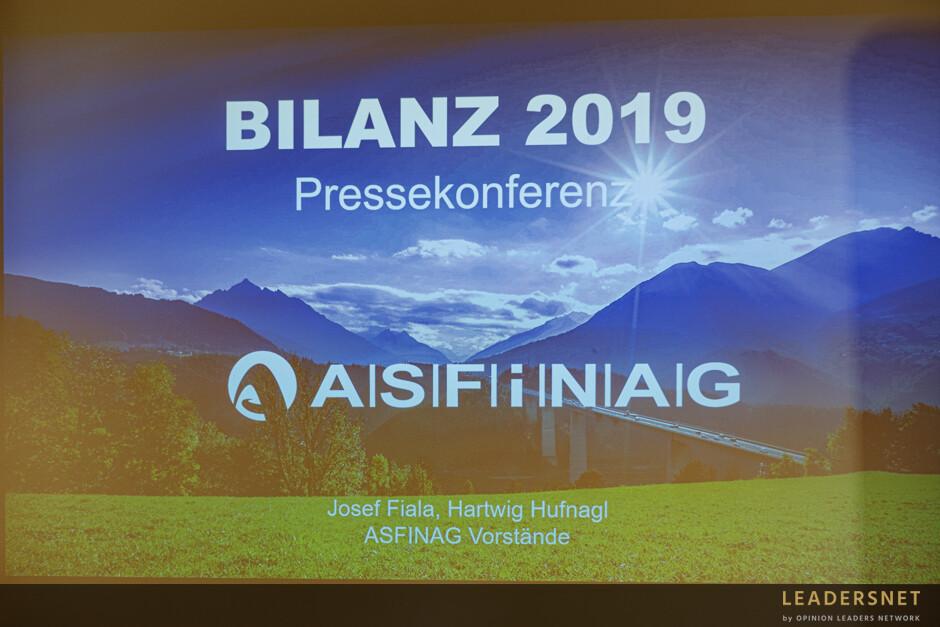 ASFINAG Bilanz-Pressekonferenz 2020