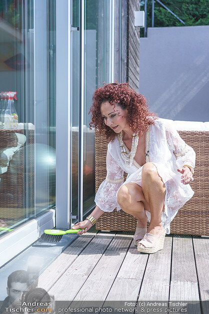 Christina Lugner in der Corona Zeit