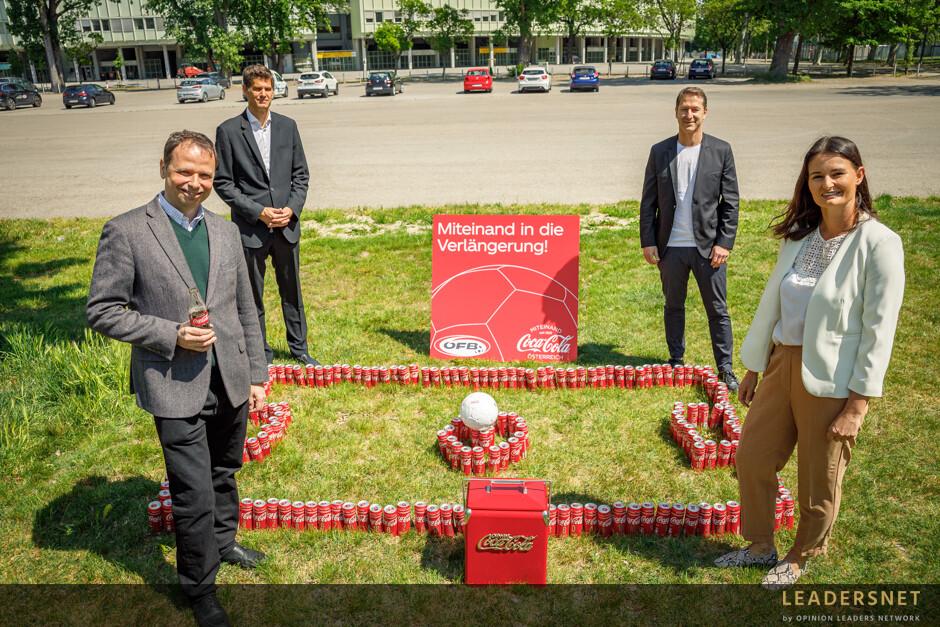 Medientermin ÖFB und Coca Cola