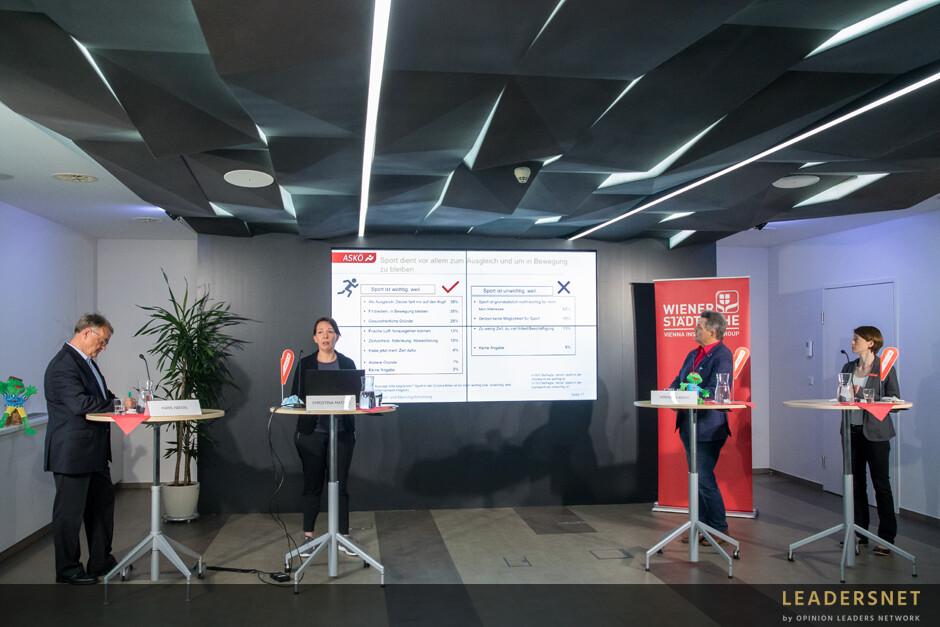 Pressekonferenz: ASKÖ-Studie: Bewegung gewinnt gegen Corona