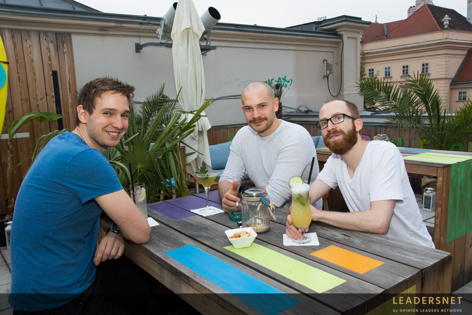 Rooftop-Bar Barfly - Cafe Leopold