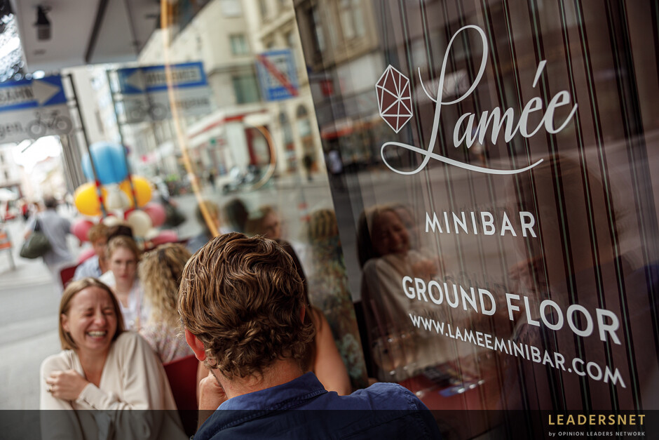 Opening LAMÉE MINIBAR