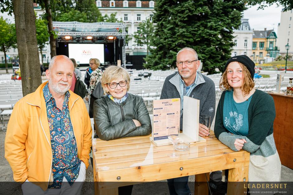 Stadt:Kultur Kurpark Baden  - Wir Staatskünstler – Jetzt erst recht reloaded!