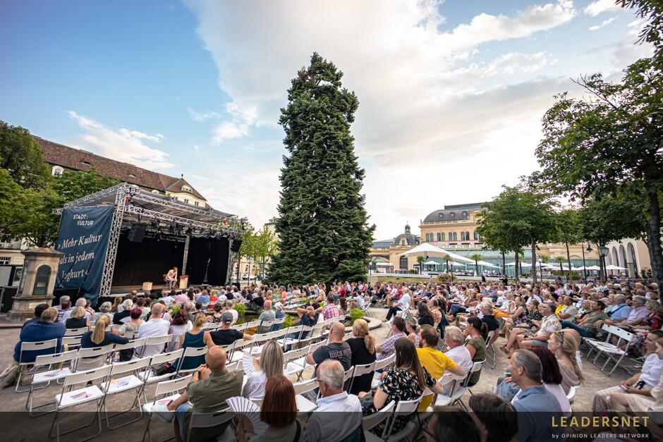 Stadt:Kultur Kurpark Baden  - Klaus Eckel – ich werde das Gefühl nicht los