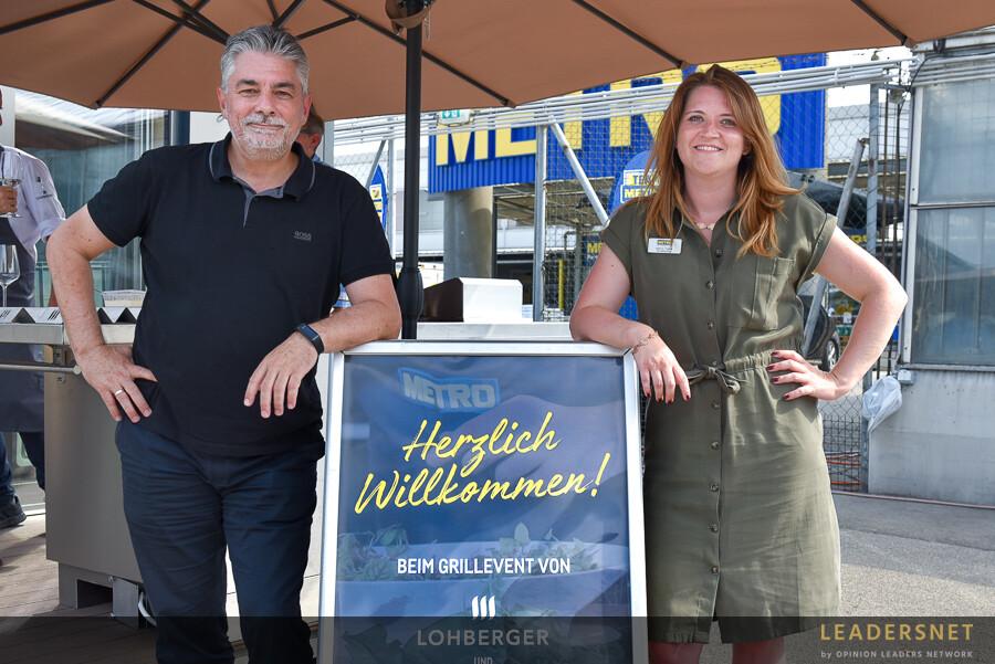 Lohberger zu Gast bei METRO Langenzersdorf