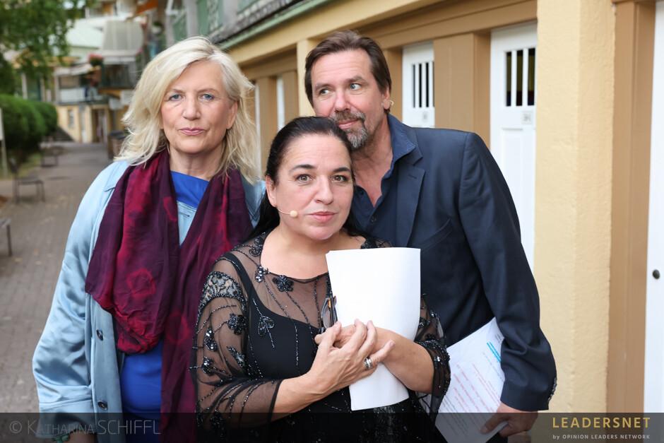 Schwimmender Salon - Maria Happel & Michael Maertens: Gefährliche Liebschaften