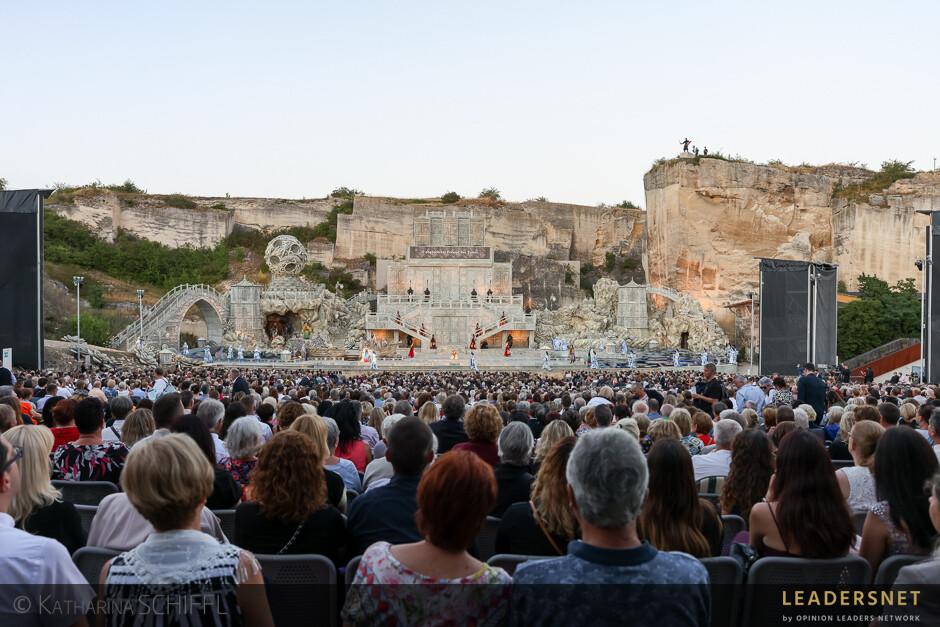 """Premiere von Puccinis """"Turandot"""" - Steinbruch St. Margarethen"""