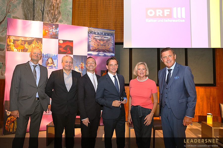 Pressegespräch zum ORF-III-Schwerpunkt FASZINATION MUSICAL